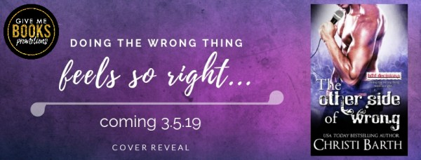 The Opposite of Right cover reveal banner