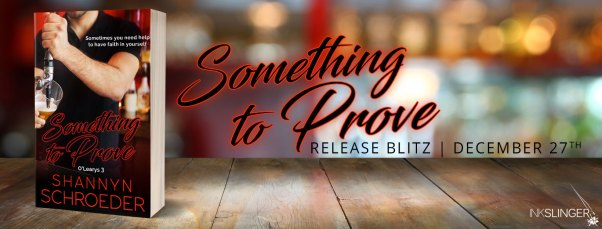 Something to Prove release blitz banner