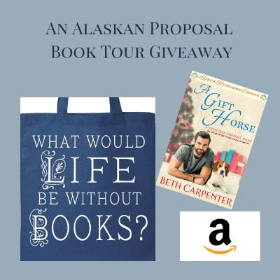 An Alaskan Proposal giveaway graphic