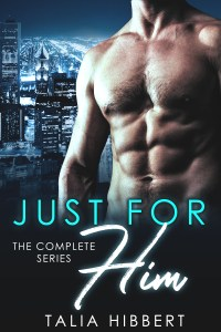 Just for Him complete series box set cover