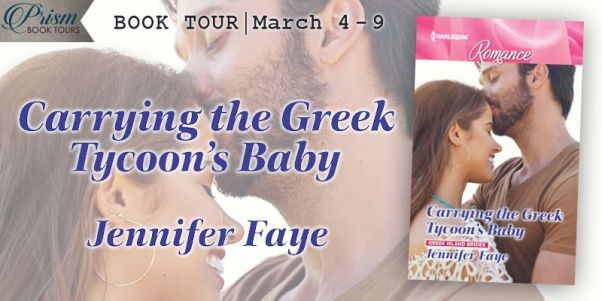 Carrying the Greek Tycoon's Baby tour banner