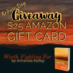 Giveaway graphic--$25 Amazon gift card