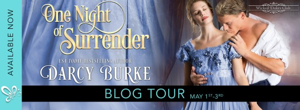 One Night of Surrender tour banner