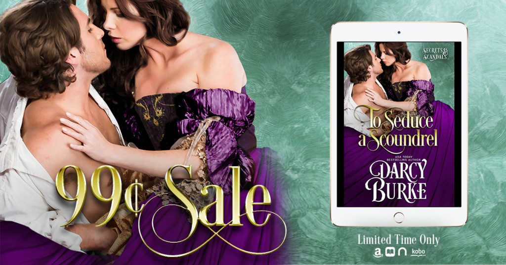 To Seduce a Scoundrel 99-cent sale banner