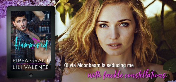 Teaser: Olivia Moonbeam is seducing me with freckle constellations.
