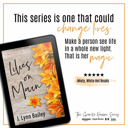 This series is one that could change lives. Make a person see life in a whole new light. That is her magic. -Misty, White Hot Reads (5 star)