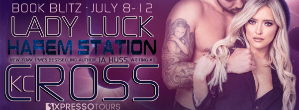 Lady Luck Harem Station by K.C. Cross blitz banner