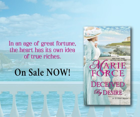 In an age of great fortune, the heart has its own idea of true riches.  DECEIVED BY DESIRE  on sale now!