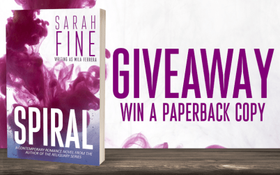 Giveaway! Win a paperback copy