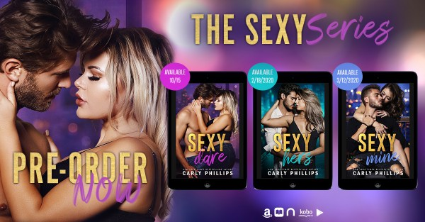 The Sexy series pre-order now banner
