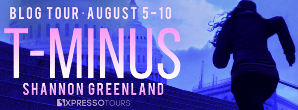 T-Minus blog tour banner