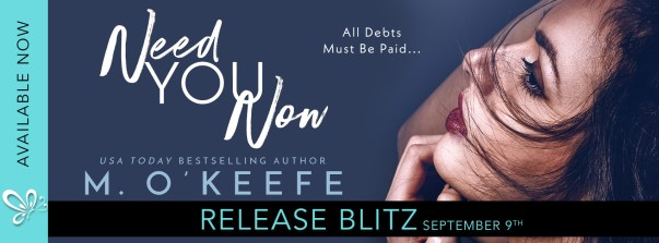 Need You Now release blitz banner