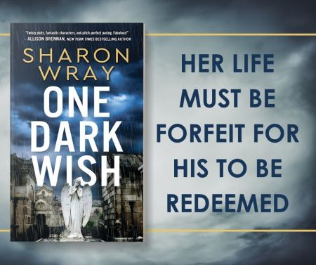 Her life must be forfeit for his to be redeemed ONE DARK WISH tour graphic
