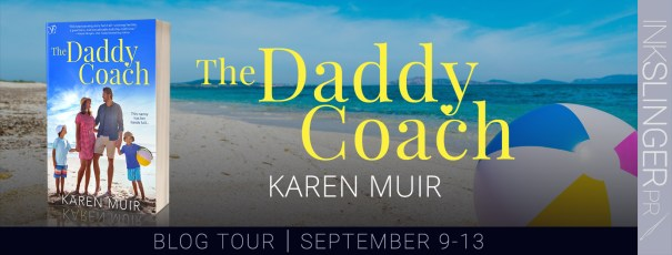 The Daddy Coach blog tour banner