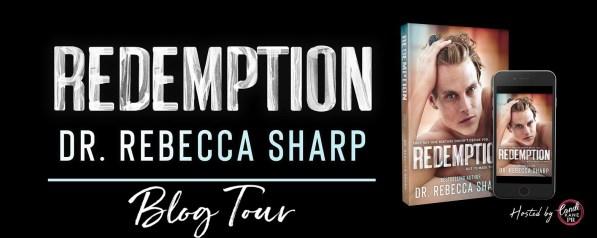 Redemption blog tour banner