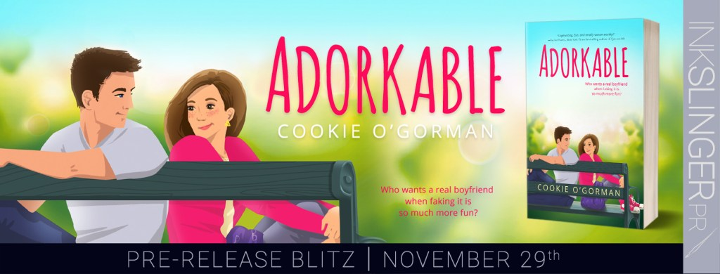 Adorkable by Cookie O'Gorman pre-release blitz banner