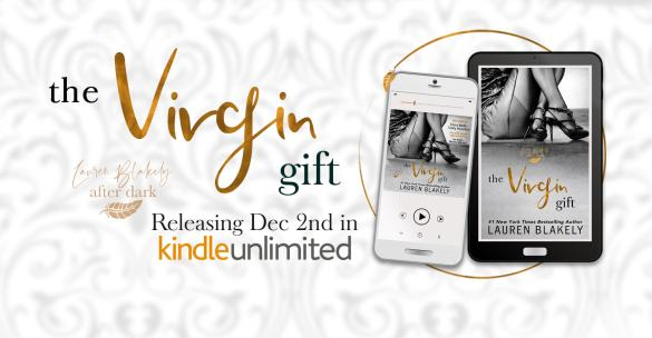 The Virgin Gift Releasing Dec 2nd in KindleUnlimited Cover reveal banner