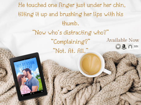 """He touched one finger just under her chin, tilting it up and brushing her lips with his thumb. """"Now who's distracting who?"""" """"Complaining?"""" """"Not. At. All."""""""