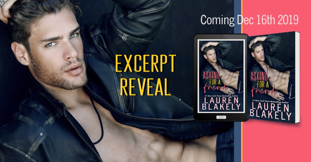Asking For a Friend excerpt reveal banner
