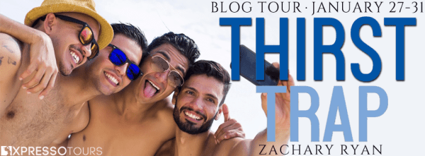 Thirst Trap blog tour banner