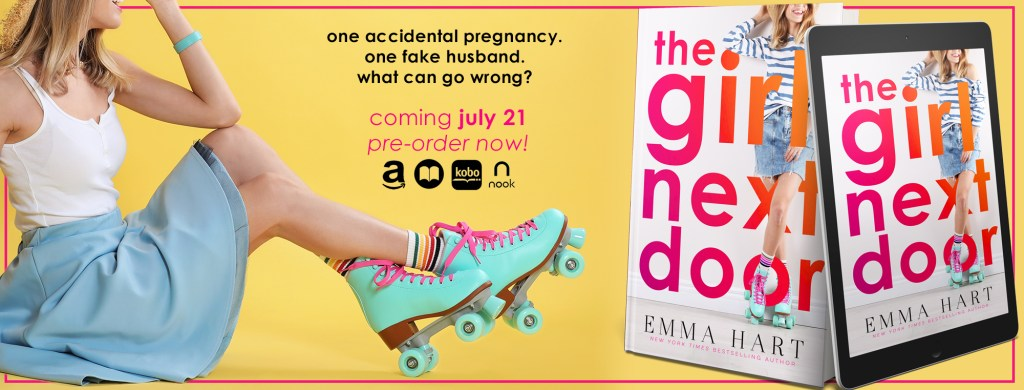 The Girl Next Door cover reveal blitz banner