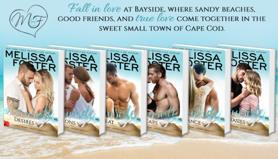 Fall in love at Bayide, where sandy beaches, good friends, and true love come together in the sweet small town of Cape Cod