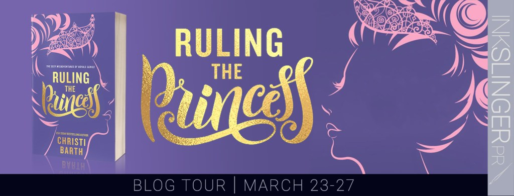 Ruling the Princess blog tour banner