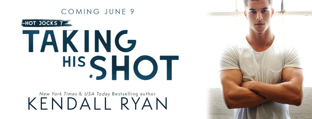 Taking His Shot cover reveal banner