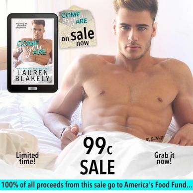 Come As You Are 99 cent sale graphic