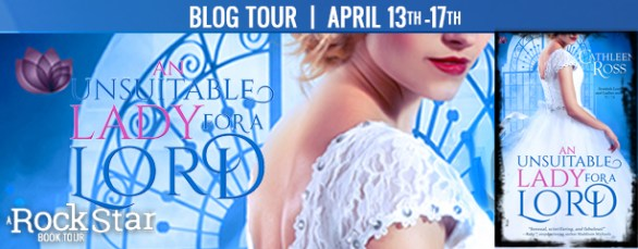An Unusuitable Lady for a Lord blog tour banner