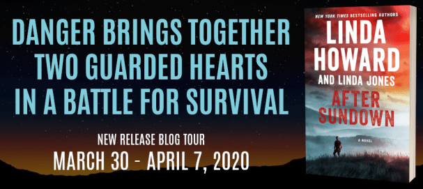 Danger brings together two guarded hearts in a battle for survival. AFTER SUNDOWN new release blog tour banner