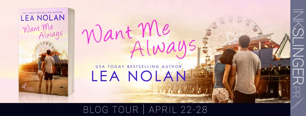 Want Me Always blog tour banner