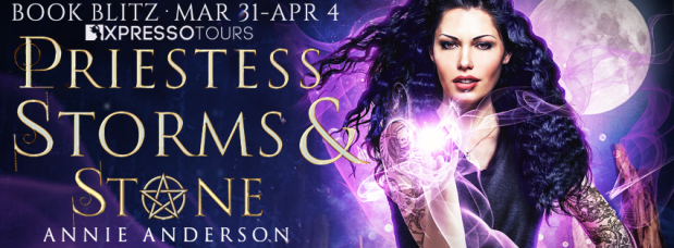 Priestess of Storms & Stone release blitz banner