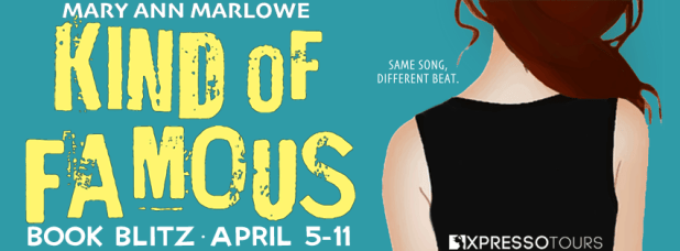 Kind of Famous book blitz banner