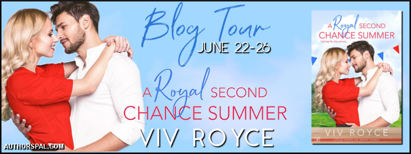 A Royal Second Chance Summer blog tour banner