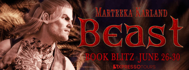 Beast book blitz banner