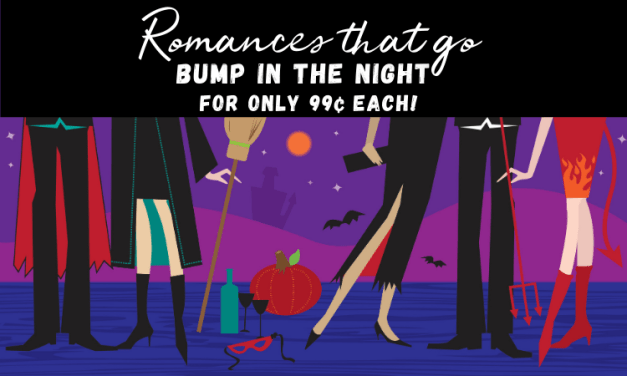 Romances that go bump in the night for only 99 cents each graphic