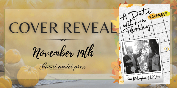 Cover Reveal banner  A Date with a Turkey