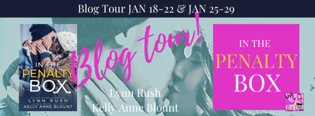In the Penalty Box blog tour banner