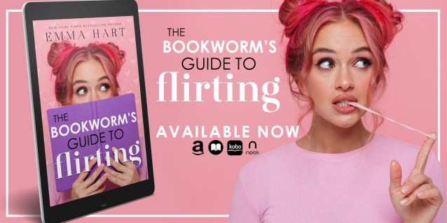 The Bookworm's Guide to Flirting release week banner