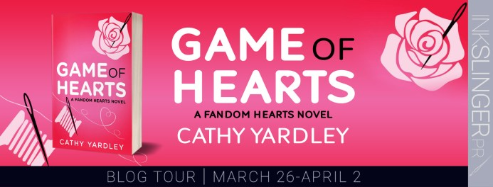 Game of Hearts blog tour banner