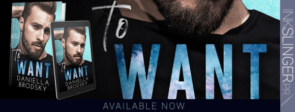 TO WANT release day blitz