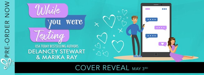 While You  Were Texting cover reveal banner