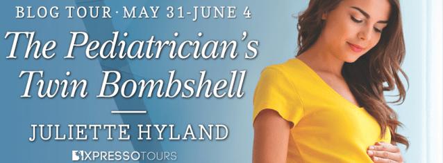 The Pediatrician's Twin Bombshell blog tour banner