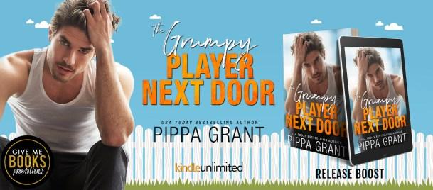 The Grumpy Player Next Door release boost banner