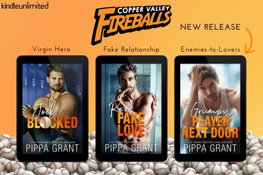 Copper Valley Fireballs series covers
