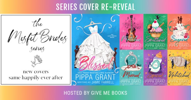 The Misfit Brides series new covers banner