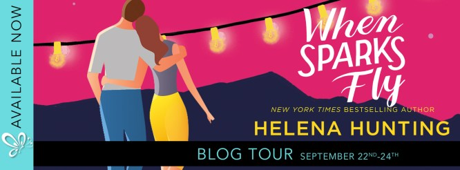 When Sparks Fly blog tour banner
