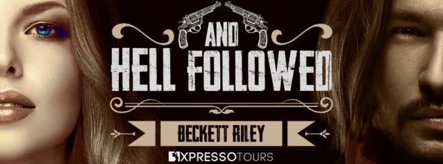 And Hell Followed by Beckett Riley cover reveal banner