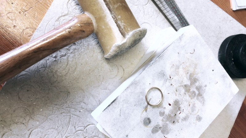 We handcraft each piece of jewellery for you in the UK using traditional metalsmithing techniques and high quality materials.